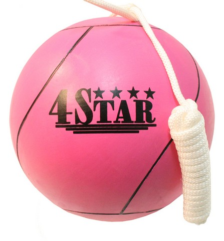 386 New Pink Tether Ball for Play Grounds & Picnics with Rope
