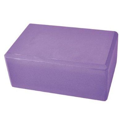 4 Inch Yoga Block - Purple