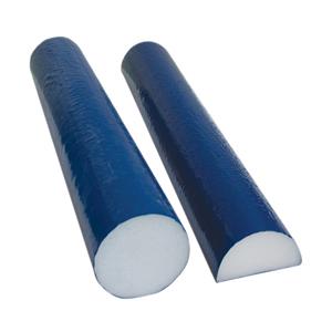 4 x 36 in. PE Foam Round Roller Tuf Coat Finish - Blue