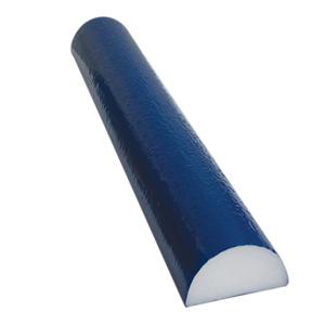 4 x 36 in. PE Foam TufCoat Finish Half Round Roller - Blue