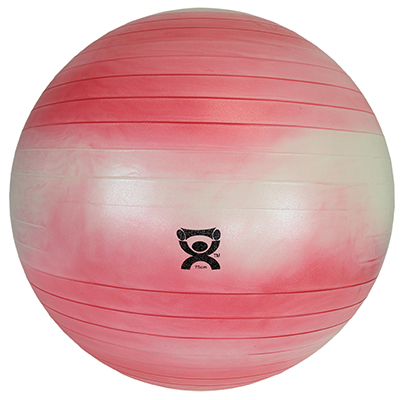 42 in. Cando Abs Inflatable Ball Red