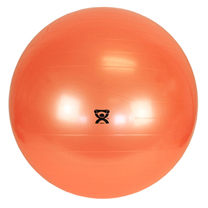 48 in. Inflatable Exercise Ball - Orange