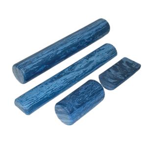 6 x 12 in. EVA Foam Extra Firm Round Roller - Blue