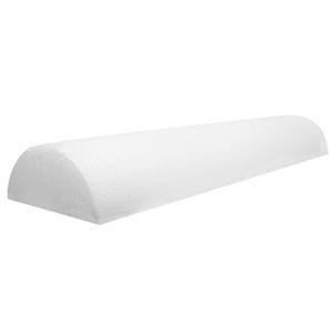 8 x 36 in. Jumbo Size PE Foam Half Round Roller - White