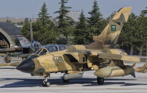 A Panavia Tornado Ids of The Royal Saudi Air Force During Exercise Anatolian Eagle 2012 Konya Air Base Turkey Poster Print 35 x 22 - Large