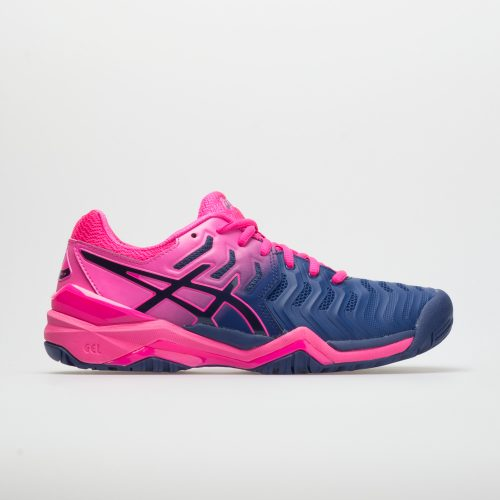 ASICS GEL-Resolution 7: ASICS Women's Tennis Shoes Blue Print