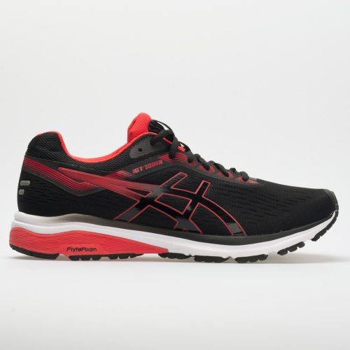 ASICS GT-1000 7: ASICS Men's Running Shoes Black/Red Alert