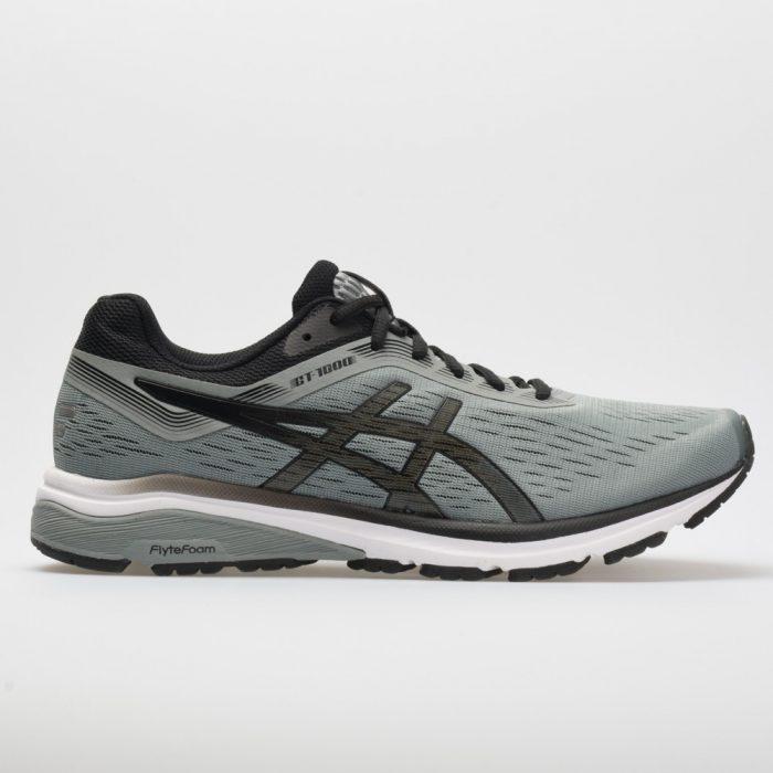 ASICS GT-1000 7: ASICS Men's Running Shoes Stone Grey/Black