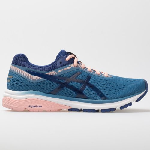 ASICS GT-1000 7: ASICS Women's Running Shoes Azure/Blue Print