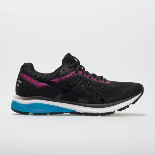 ASICS GT-1000 7: ASICS Women's Running Shoes Black/Pink Glow