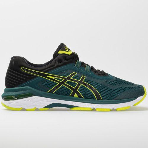 ASICS GT-2000 6: ASICS Men's Running Shoes Everglade/Black
