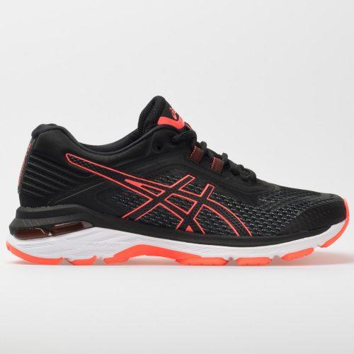 ASICS GT-2000 6: ASICS Women's Running Shoes Black/Flash Coral