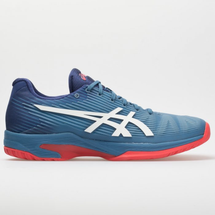 ASICS Solution Speed FF: ASICS Men's Tennis Shoes Azure/White