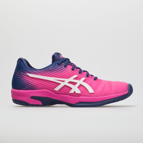 ASICS Solution Speed FF: ASICS Women's Tennis Shoes Pink Glo/White