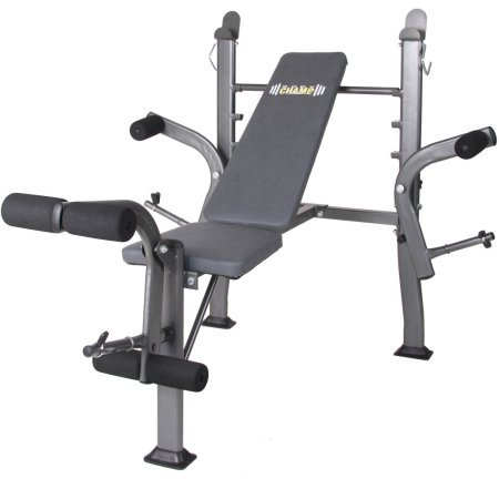 Body Flex Sports BCB500 Stand Weight Bench with Butterfly