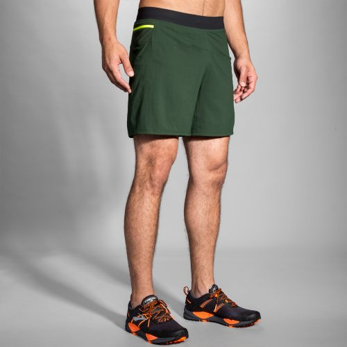 "Brooks Cascadia 7"" 2-in-1 Shorts: Brooks Men's Running Apparel"