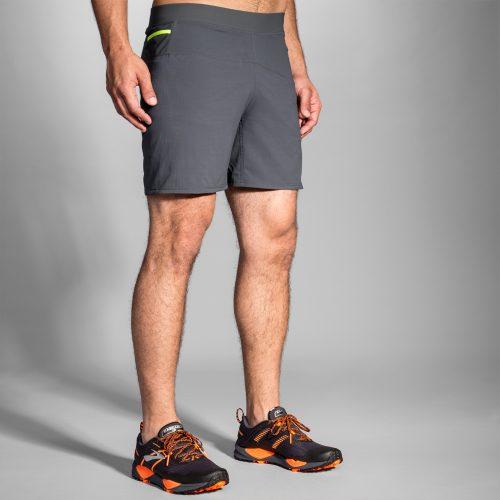 "Brooks Cascadia 7"" 2-in-1 Shorts: Brooks Men's Running Apparel"