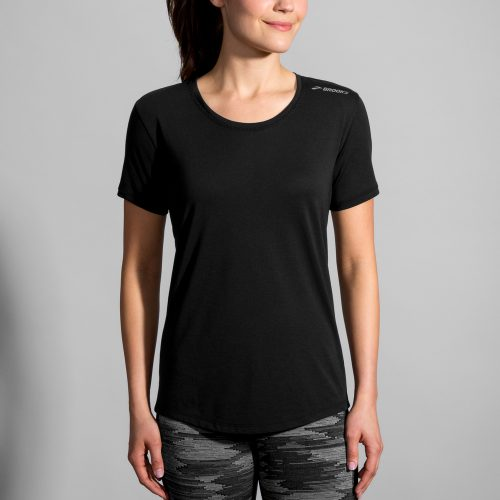 Brooks Distance Short Sleeve Top: Brooks Women's Running Apparel