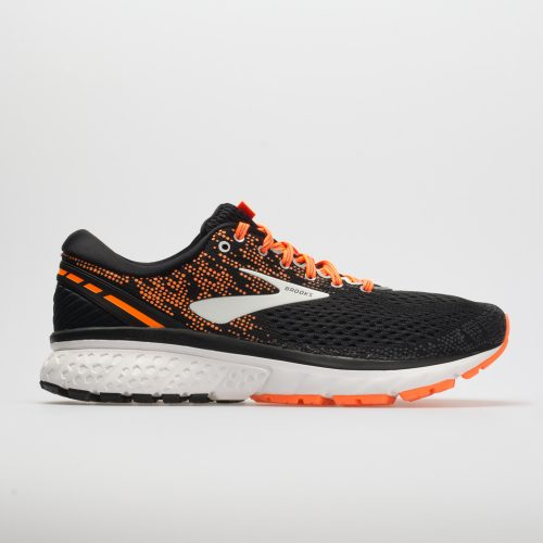 Brooks Ghost 11: Brooks Men's Running Shoes Black/Silver/Orange