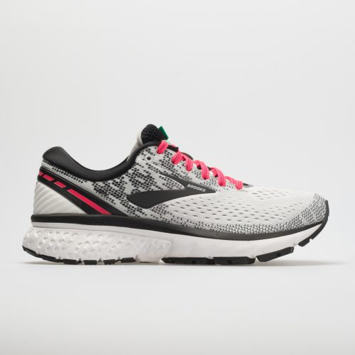 Brooks Ghost 11: Brooks Women's Running Shoes White/Pink/Black