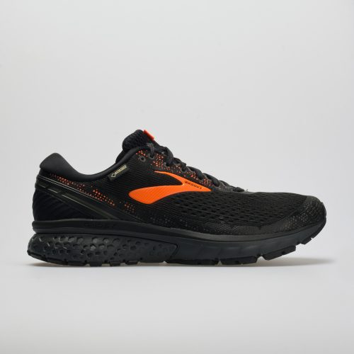 Brooks Ghost 11 GTX: Brooks Men's Running Shoes Black/Orange/Ebony