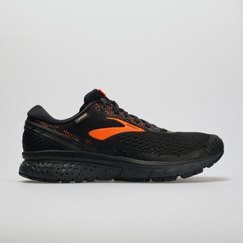 Brooks Ghost 11 GTX: Brooks Men's Running Shoes Black/Orange/Ebony