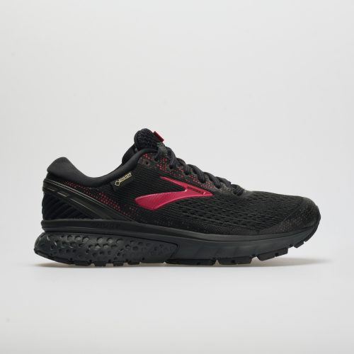 Brooks Ghost 11 GTX: Brooks Women's Running Shoes Black/Pink/Ebony