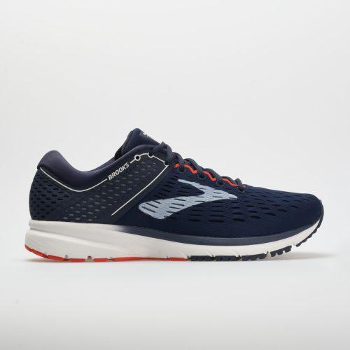 Brooks Ravenna 9: Brooks Men's Running Shoes Navy/White/Orange