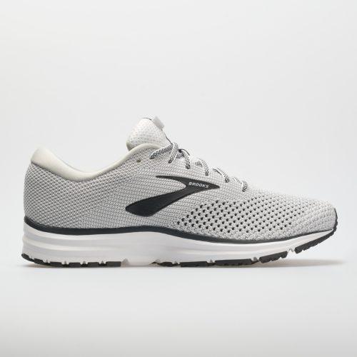 Brooks Revel 2: Brooks Men's Running Shoes White/Grey/Black