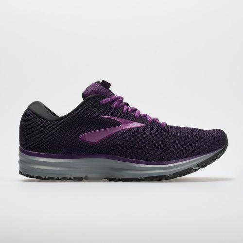 Brooks Revel 2: Brooks Women's Running Shoes Black/Purple/Grey