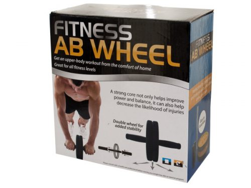 Bulk Buys OD402-2 Fitness Ab Wheel