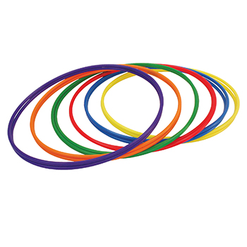 CHAMPION SPORTS CHSH3 PLASTIC HOOPS 30IN 12PK 2 EACH OF 6