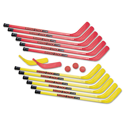 Champion Sport HS36SET Rhino Stick Elementary Hockey Set 36 in. Plastic
