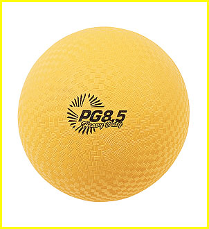 Champion Sports 95059 85 in. Heavy Duty Playground Ball Yellow