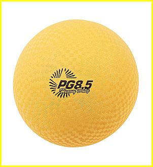 Champion Sports 95059 85 in. Heavy Duty Playground Ball Yellow