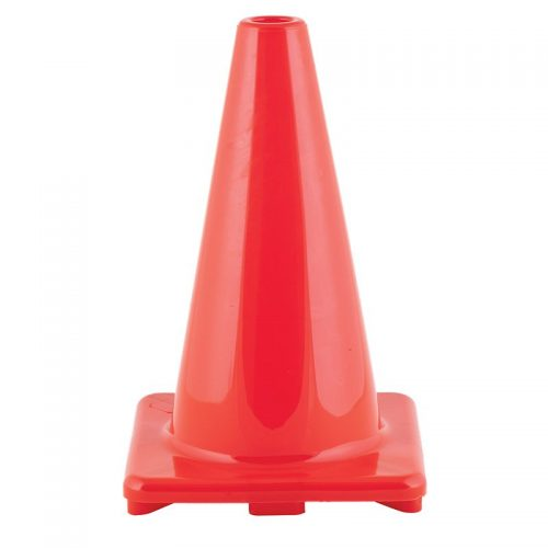 Champion Sports CHSC12OR 12 in. Orange Weighted Flexible Vinyl Cone