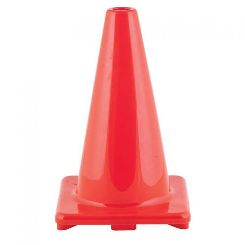 Champion Sports CHSC12ORBN 12 in. Flexible Vinyl Cone Orange - Pack of 3