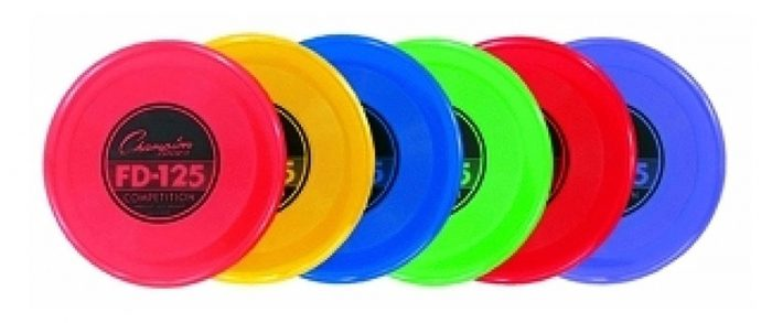Champion Sports CHSFD125 Plastic Flying Disc - Assorted