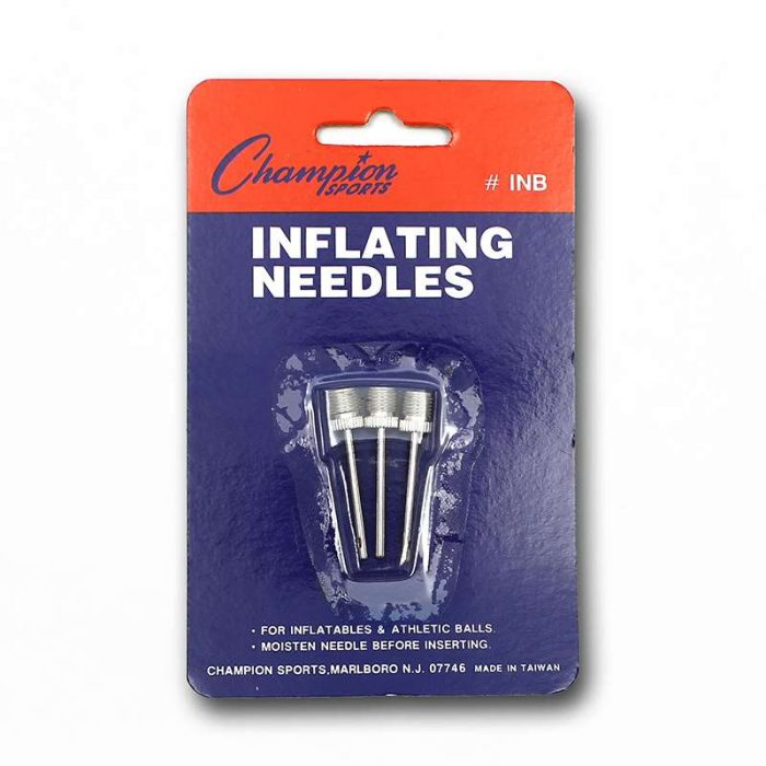 Champion Sports CHSINBBN Inflating Needles - Pack of 12