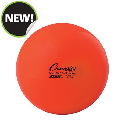 Champion Sports FHB1OR 2.75 in. Field Hockey Balls Orange