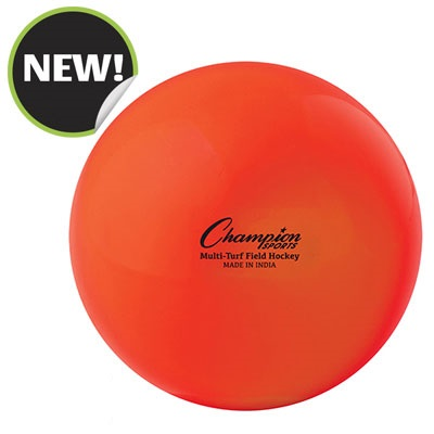Champion Sports FHB2OR 2.75 in. Practice Field Hockey Balls Orange