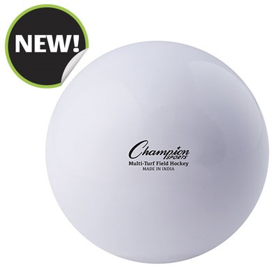 Champion Sports FHB2WH 2.75 in. Practice Field Hockey Balls White