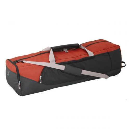 Champion Sports LAXBAGRD Lacrosse Equipment Bag Red