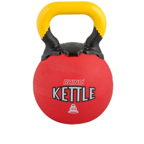 Champion Sports RKB10 10 lbs Rhino Kettle Bell Red