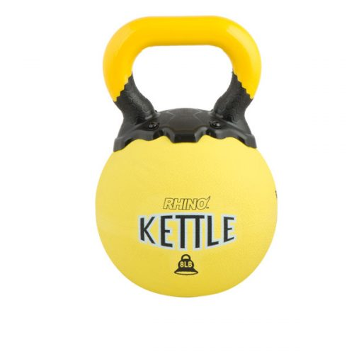 Champion Sports RKB8 8 lbs Rhino Kettle Bell Yellow
