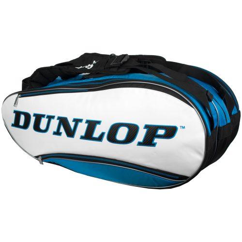 Dunlop Srixon 12 Racquet Bag Blue/White/Black: Dunlop Tennis Bags