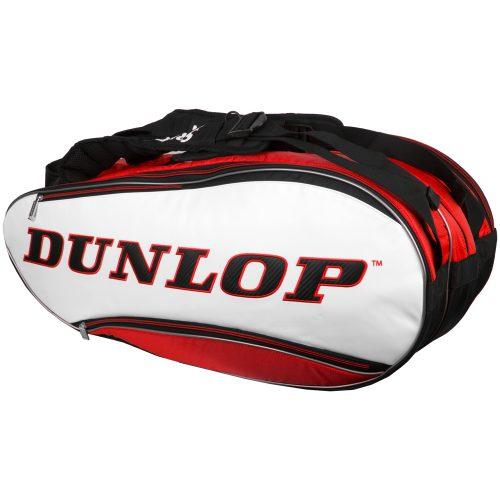 Dunlop Srixon 12 Racquet Bag Red//White/Black: Dunlop Tennis Bags
