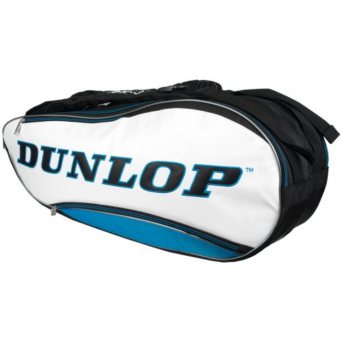 Dunlop Srixon 8 Racquet Bag Blue/White/Black: Dunlop Tennis Bags