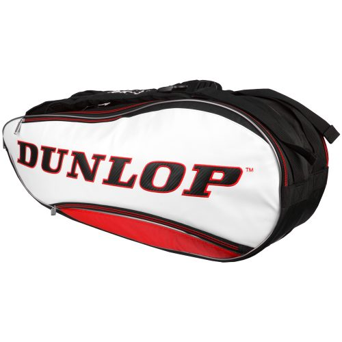 Dunlop Srixon 8 Racquet Bag Red/White/Black: Dunlop Tennis Bags