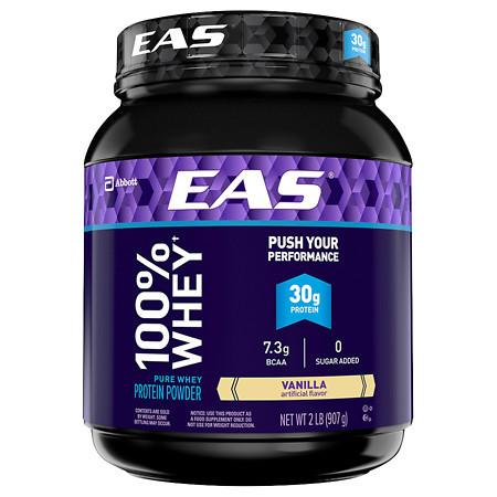 Eas 100% Pure Whey Protein Powder Vanilla - 2 lb